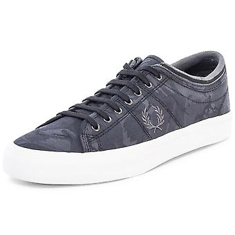 Fred Perry Men's Kendrick Tipped Cuff Jacquard Trainers B8249-102