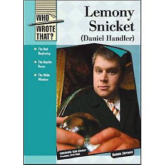 Lemony Snicket (Daniel handler) af Dennis Abrams-Kyle Zimmer-9781