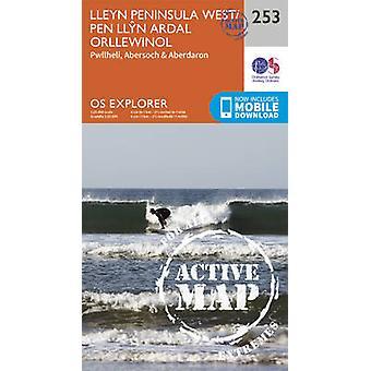 Lleyn Peninsula West (September 2015 ed) by Ordnance Survey - 9780319