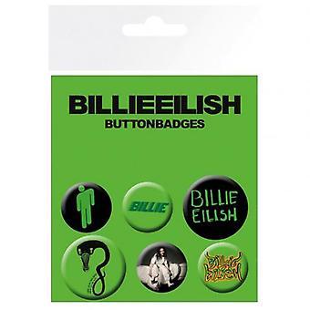 Billie Eilish Button Badge Set