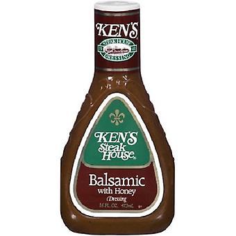 Ken's Steakhouse Balsamic con aderezo de miel