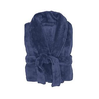 Bambury Microplush Robe Denim