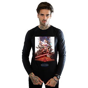 Star Wars The Rise Of Skywalker Poster Long Sleeved T-Shirt Men's
