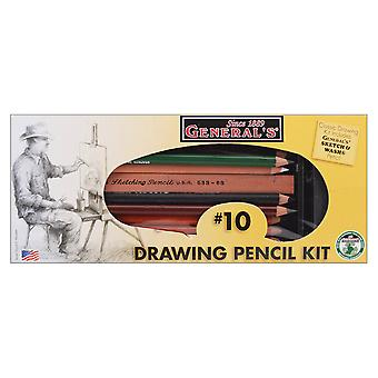 Drawing Pencil Kit 12 Pieces 10