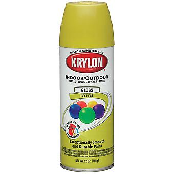 Indoor Outdoor Aerosol Paint 12 Ounces Gloss Ivy Leaf 1000A4 51515