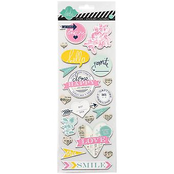 Heidi Swapp Mixed Media Chipboard Stickers 4.5