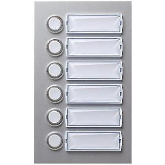 Bell panel backlit, with nameplate 6x Friedland 400115 Silver (matt, anodised) 15 V