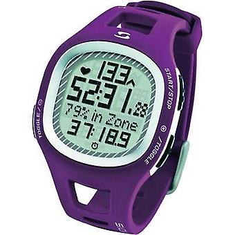 Heart rate monitor watch with chest strap Sigma PC 10.11 Purple