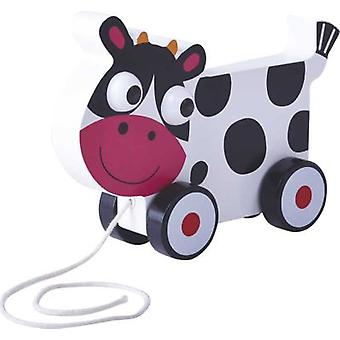 CPA Cow Wood Wheel (Toys , Preschool , Babies , Push And Pull Toys)