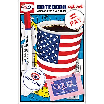 Tricky Notebook Set 5pcs-Cup Of Joe TRNS-2006E