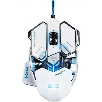 Bluestork Bs-gaming mouse gm-kult4 white Illuminate