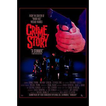 Преступности история фильм плакат печать (27 x 40)