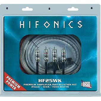 Car stereo headstage amp connector kit Hifonics PREMIUM KABELKIT 25 mm² HF25WK