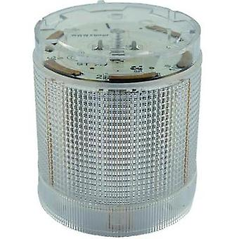 Signal tower component LED ComPro CO ST 70 White Non-stop light signal, Flasher 24 Vdc, 24 Vac 75 dB