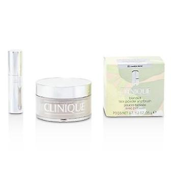 Clinique blandet ansikt pulver + Brush - nr. 20 usynlig blanding - 35g / 1.2 oz