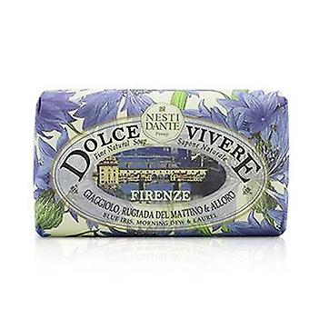 Dolce Vivere Fine Natural Soap - Firenze - Blue Iris Morning Dew & Laurel - 250g/8.8oz