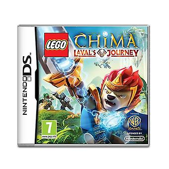 Lego Legends of Chima Lavals Journey Nintendo DS Game