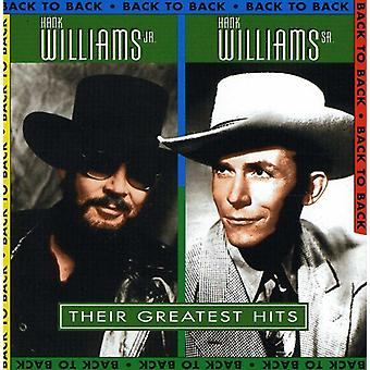 Williams, Hank Jr./Sr. - Their Greatest Hits [CD] USA import