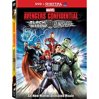 Avengers Confidential: Black Widow & Punisher [DVD] USA import