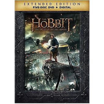 Hobbit: The Battle of the Five Armies [DVD] USA import
