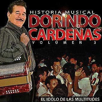 Dorindo Cardenas - import USA Dorindo Cardenas Historia muzycznych Vol. 3 [CD]