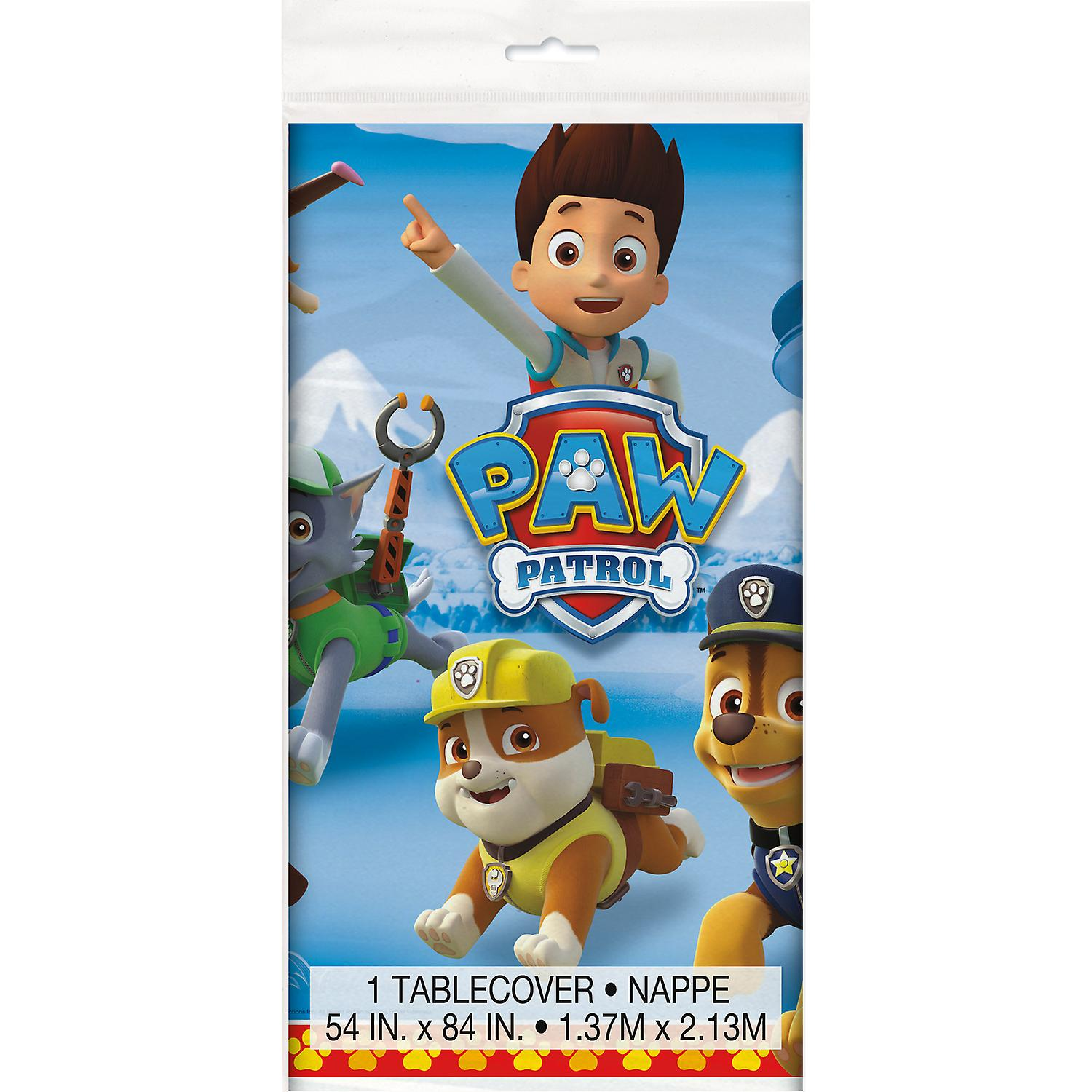 Paw Patrol Paw Patrol Plastic Table Cover