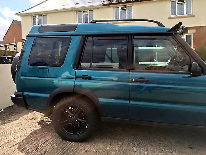 Pre cut window tint - Vauxhall Meriva 5-door - 2010 and newer (B) - Rear windows