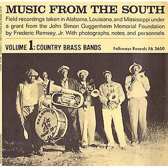 Music From the South - Music From the South: Vol. 1-Country Brass Bands [CD] USA import
