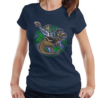 Jurassic Parks And Rec Women's T-Shirt