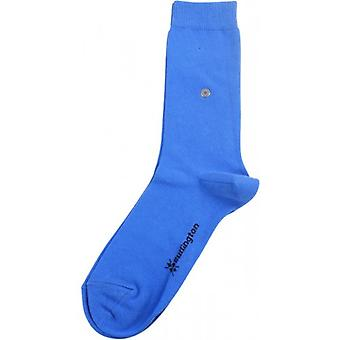 Lady Burlington-Socken - Blau