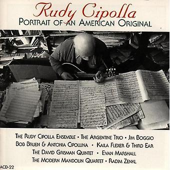 Rudy Cipolla - portræt af en amerikansk oprindelse [CD] USA import