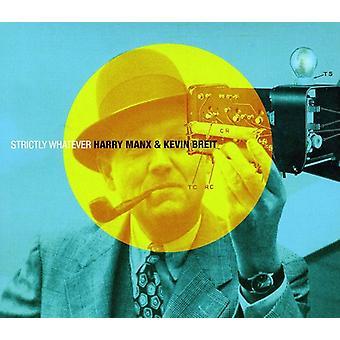 Harry Manx & Kevin Breit - strengt uanset [CD] USA import