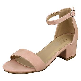 Jenter flekk på midten av hæl ankelen stroppen sandaler H1100