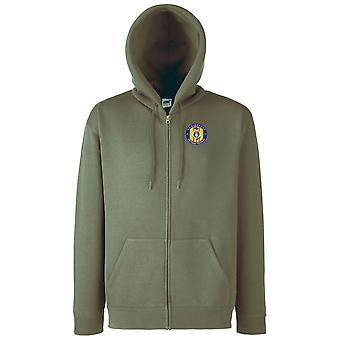 USAF Air Force Vietnam Veteran Embroidered Logo - Zipped Hoodie Jacket
