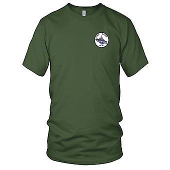 E.U. da Marinha USS DD-441 Wilkes bordada Patch - Mens T-Shirt