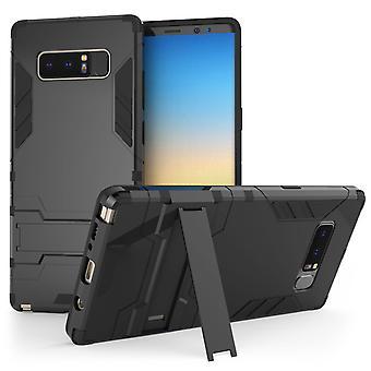 Samsung Galaxy Note 8 armadura caso de pata de cabra - negro