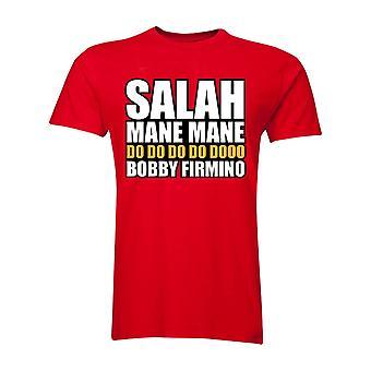 Salah Mane Mane Liverpool T-Shirt (Red)