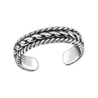 Chain - 925 Sterling Silver Toe Rings - W29405x