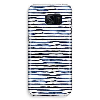 Samsung S7 Edge Full Print Case - Surprising lines