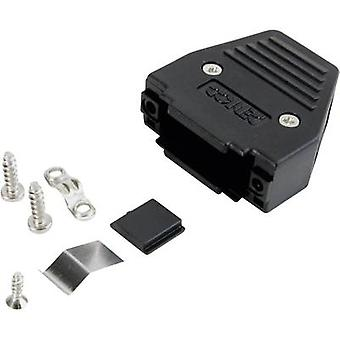 D-SUB housing Number of pins: 37 Plastic 180 ° Black