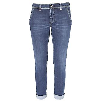 Dondup mens UP439DS050UP06G Blau bomull jeans
