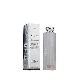 Dior Fix It Backstage Pros 2-In-1 Prime & Conceal '002 Medium' 3.5g New In Box