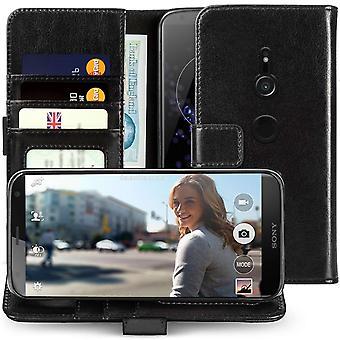 Sony Xperia XZ2 echte ID portemonnee - Black
