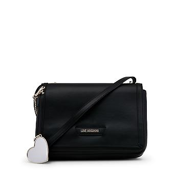 Love Moschino Women Crossbody Bags Black