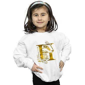 Harry Potter Girls Hufflepuff Badger Sweatshirt