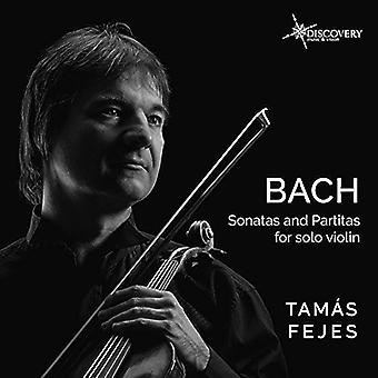 Bach, J.S. / feje - Bach; J.S.: Sonater & Partitas for Solo Violin [CD] USA importerer
