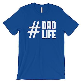 Hashtag Dad Life Mens Royal Blue Shirt