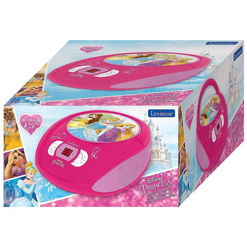 Lexibook Radio CD Player Disney Princess (Model No  RCD108DP)