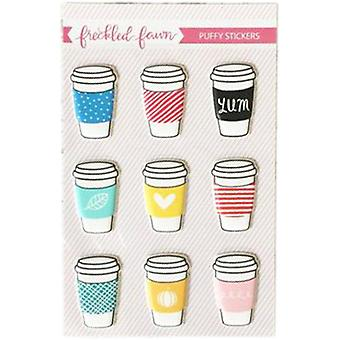 Freckled Fawn Puffy Stickers-Drink Cups