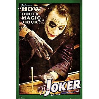 Batman Joker How About A Magic Trick Poster Poster Print